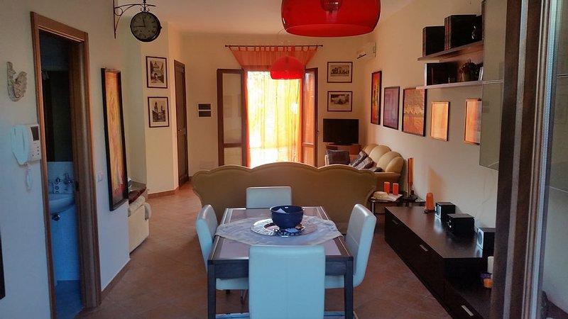 Star bene in Sicilia!Amalia la proprietaria saprà rendere il tuo soggiorno unico, vacation rental in Tonnara di Bonagia