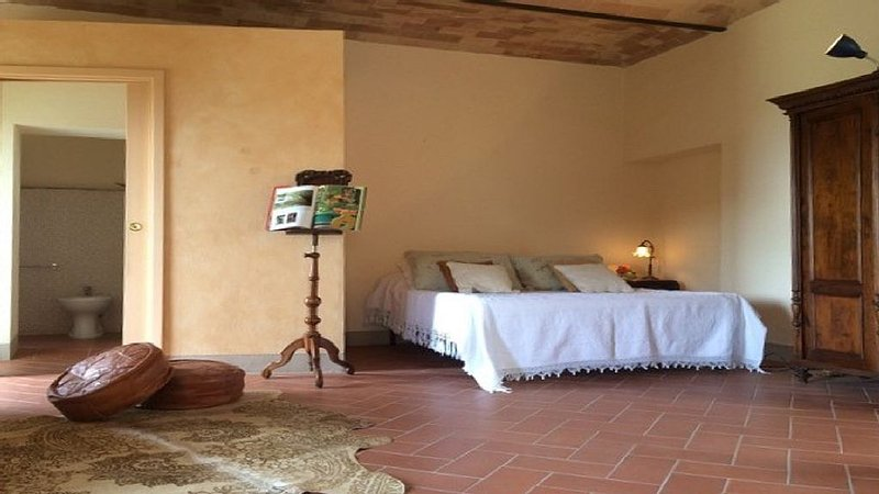 Terriciolla, Tuscany beautiful apartment with stunning views, vacation rental in Morrona