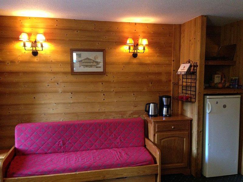 appartement les deux alpes  (40m2) 8 pers max, alquiler vacacional en Les Deux-Alpes