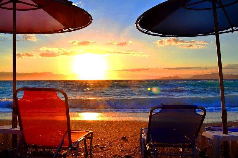 Maison de plage : au bord de l'eau, holiday rental in Isthmia