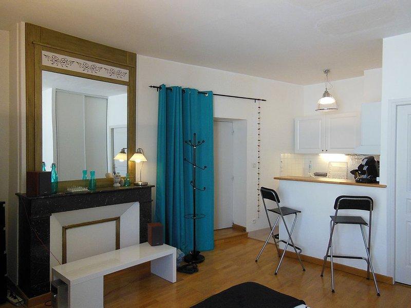 STUDIO 2* HYPER CENTRE entre VIEUX PORT et PLAGE, vacation rental in La Rochelle