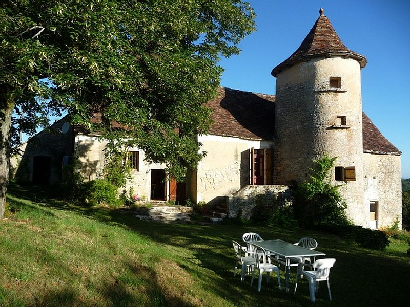 16th Century Manor House with private pool, holiday rental in Séniergues