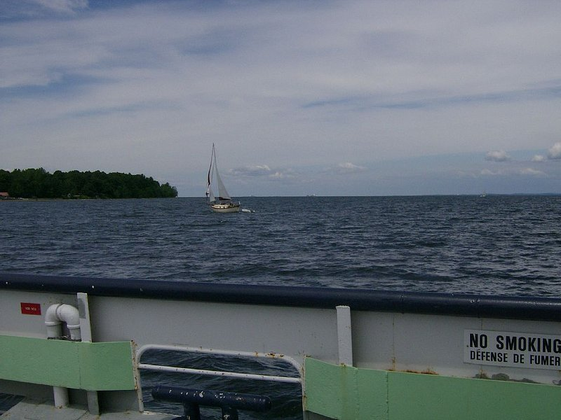 Ferry to Vermont. 15 minute drive to the Essex Ferry!