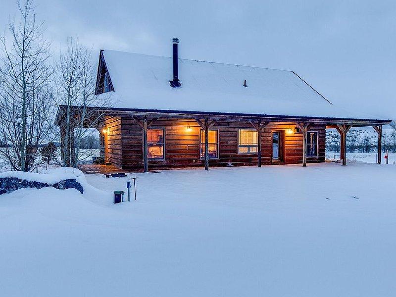 The Tetons for a family vacation retreat! - Yellowstone, Jackson Hole & Targhee, alquiler vacacional en Alta