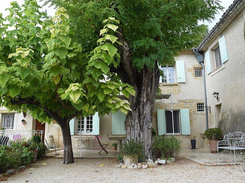 Mas de Provence idéal pour des vacances en famille ou entre amis, location de vacances à Villelaure