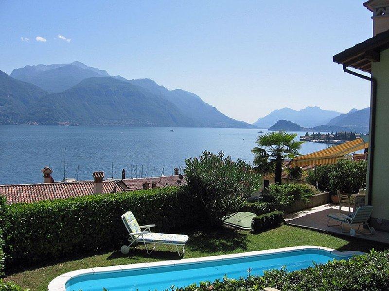 ruhig gelegenes Haus mit privatem Pool und schönem Garten am Comer See, vacation rental in Menaggio