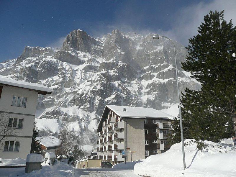 Ski et Thermes au soleil du Valais, location de vacances à Leukerbad
