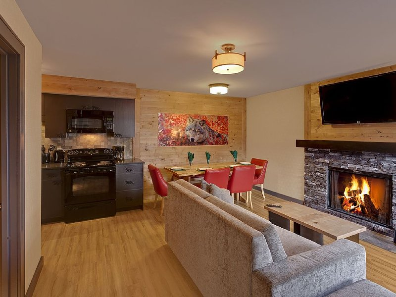 Banff Rocky Mountain Resort - 2 Bedroom - sleeps 6, vacation rental in Banff National Park