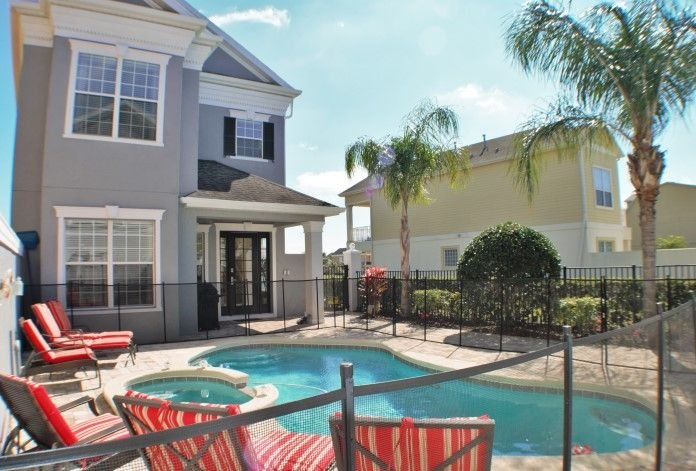 Patio and Pool/Spa - courtyard style pool, great privacy.  4 person spa, loungers.
