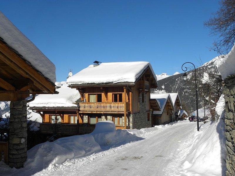 Apartment (8 pers.) on 50 m' of the ski slopes, next to the authentic village – semesterbostad i Sainte-Foy-Tarentaise