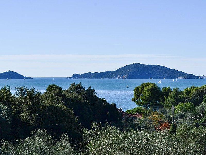 Appartamento in villetta vista mare a Tellaro - CITRA 011016-LT-0288, holiday rental in Tellaro