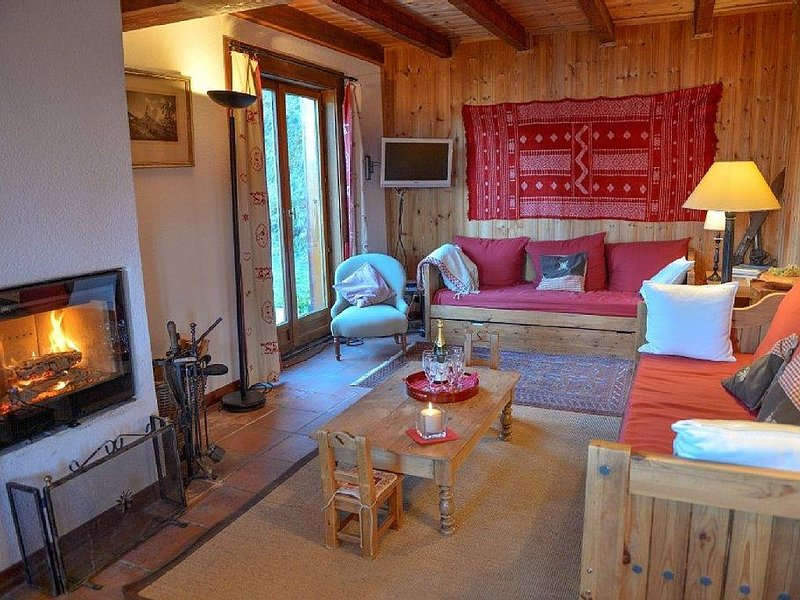 LA TZOUMAZ - VERBIER 4 Vallées - Grand Chalet 5 chambres, Ski IN/OUT, Sauna, holiday rental in Riddes
