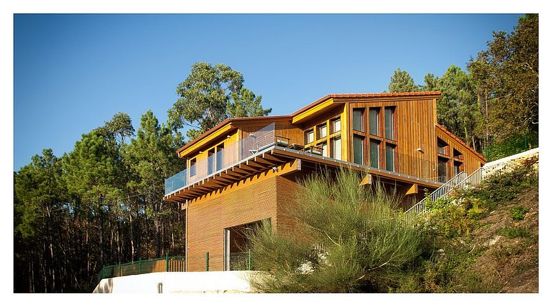 Eco House Tavilo, Outes, Galicia, Spain, holiday rental in Outes