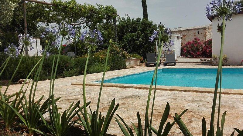 Beautifully restored Trulli with private 10x5 Metre Pool, Air-con and Wi-fi, alquiler de vacaciones en Ceglie Messapica