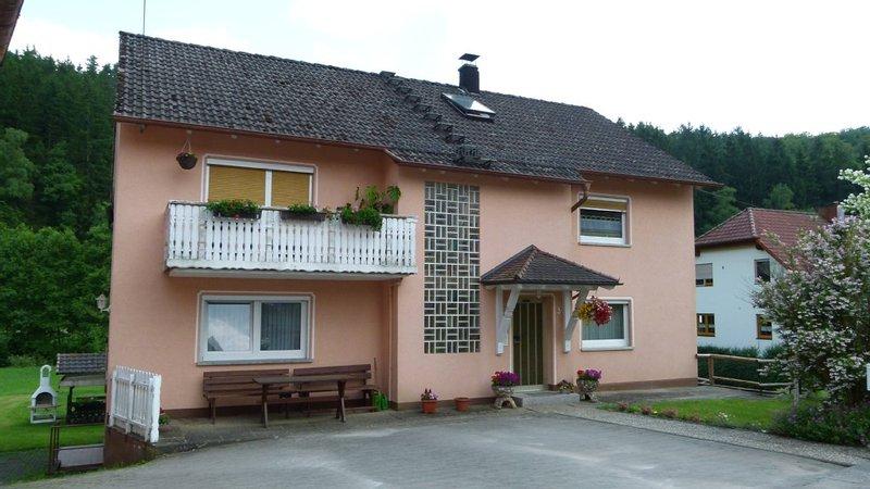 Fewo 'Zur alten Sägemühle'- Erholung im idyllischen Schondratal, holiday rental in Bad Bocklet