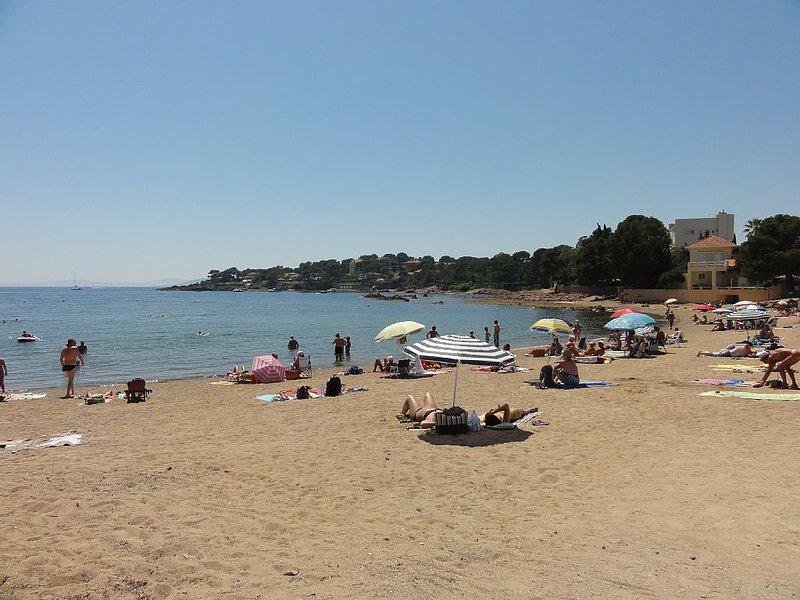 beach Peguiere face west