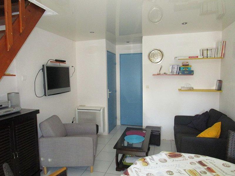 Location maison F3 FRONTIGNAN PLAGE, 50m du bord de mer, équipements de qualité, location de vacances à Frontignan