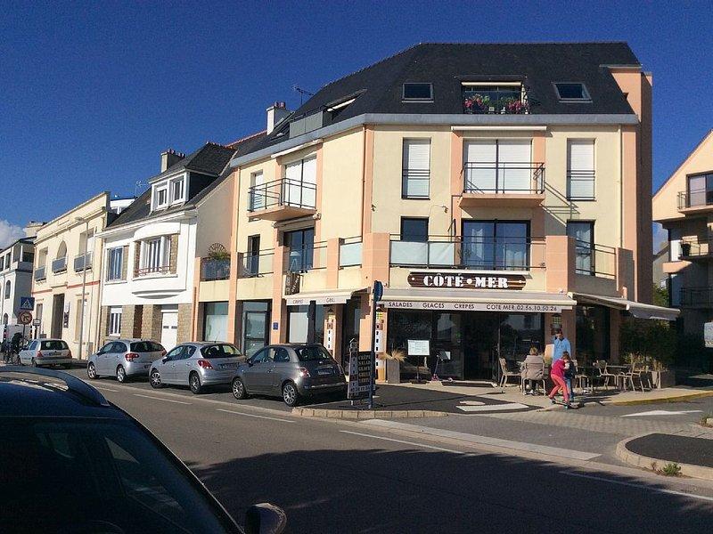 Bel appartement vue mer Concarneau - Wi fi, balcon, parking privé, holiday rental in Concarneau
