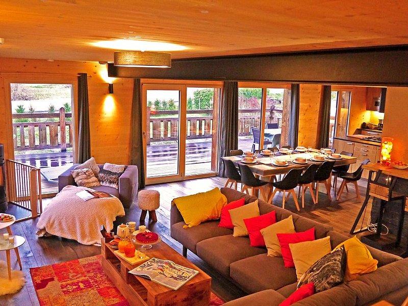 Chalet KAWA 200 m2 avec hammam, holiday rental in Les Allues
