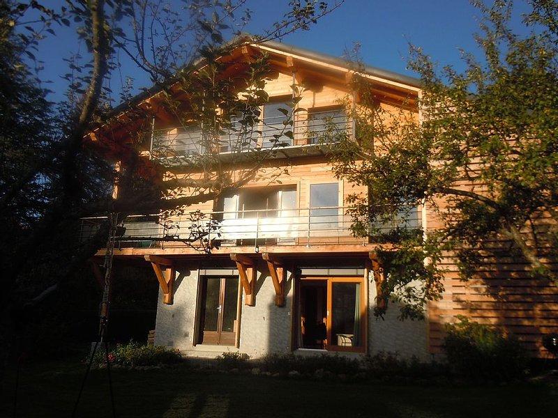 chalet à Saint-Gervais Mont Blanc. Au cœur du village 75m² tout confort, location de vacances à Saint-Gervais-les-Bains