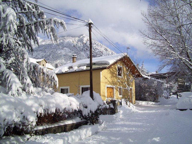 Au calme, à 5mn à pieds des commerces et télécabine du Prorel, 15mn de la gare, location de vacances à Briançon