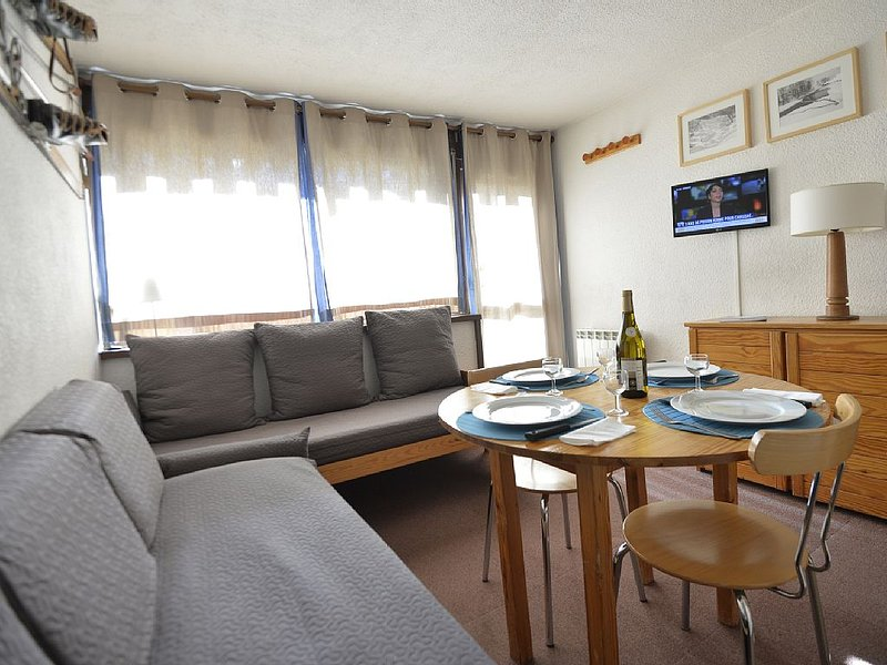 Studio 4 people, direct access to the slopes, Les, holiday rental in Saint-Martin-de-Belleville