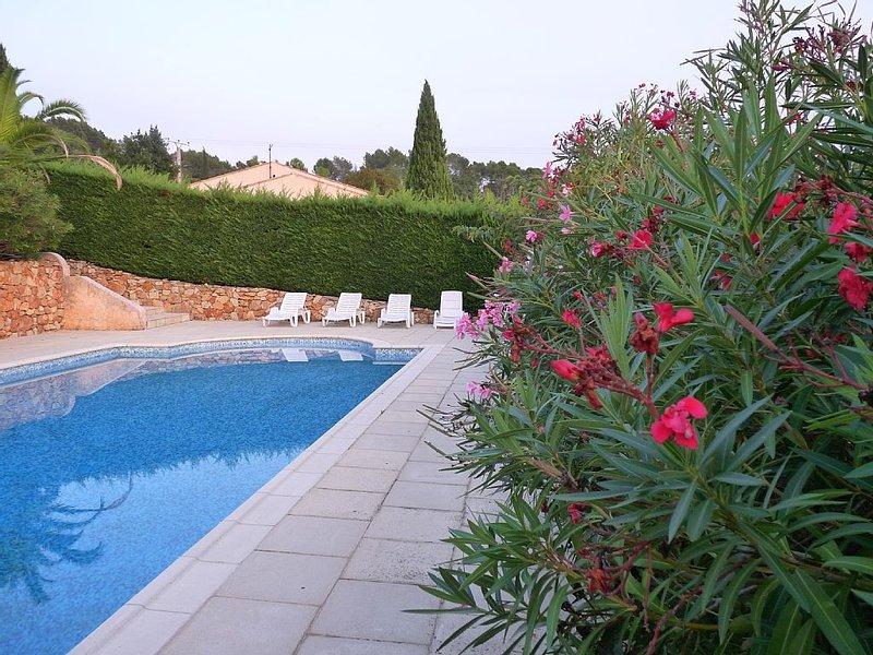 Superbe Villa d'Architecte au doux confort d'une maison de famille, holiday rental in Villecroze