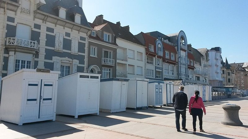 Maison d'architecte de vacances pour 6 personnes à Wimereux, holiday rental in Wimereux