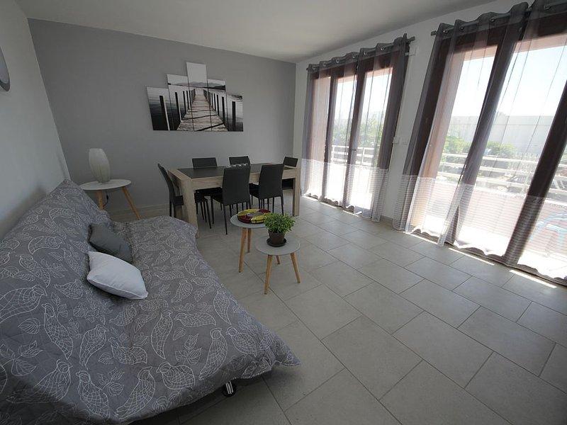 Appartement T3 à 100m de la plage Le-Grau-Du-Roi, vacation rental in Le Grau-du-Roi