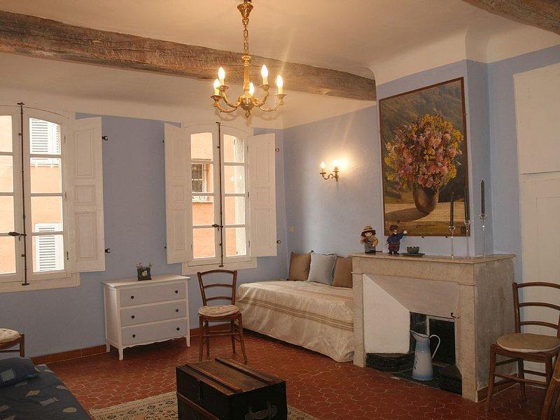 Maison typique provençale avec studio en plein centre du village de Callas, casa vacanza a Callas