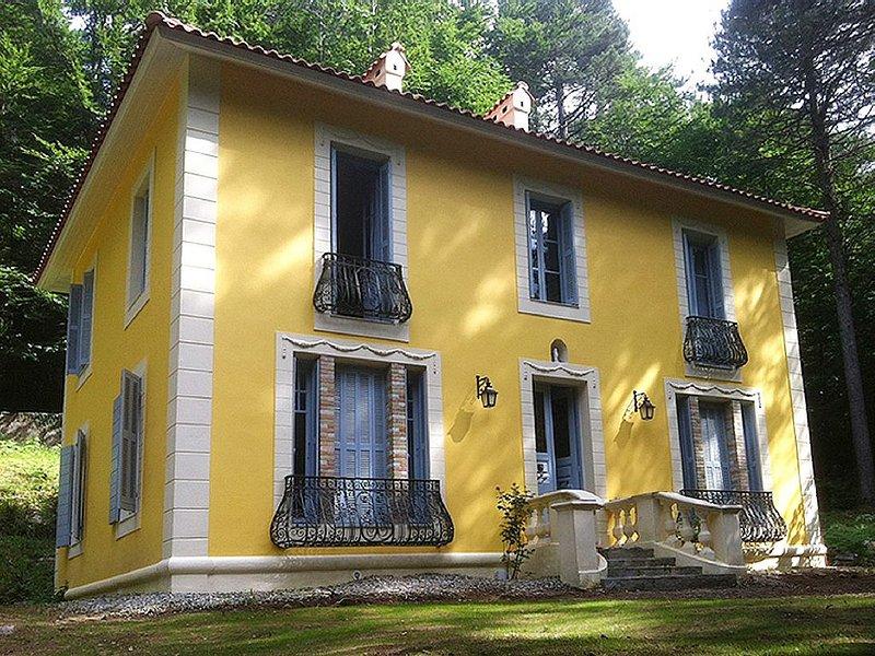 Villa de charme à Vizzavona au centre de la Corse, location de vacances à Vénaco