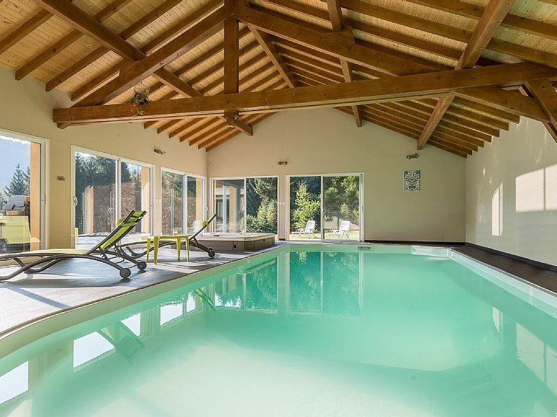 mountain villa with pool and Jacuzzi for relaxation with family or friends!, vacation rental in Le Thillot