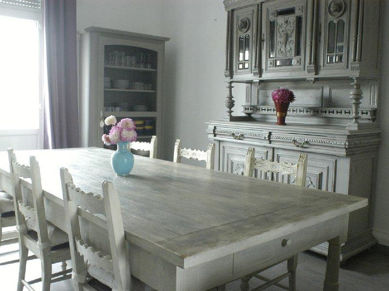Appartement spacieux, lumineux et calme proche mer et centre-ville à Berck., vacation rental in Pas-de-Calais