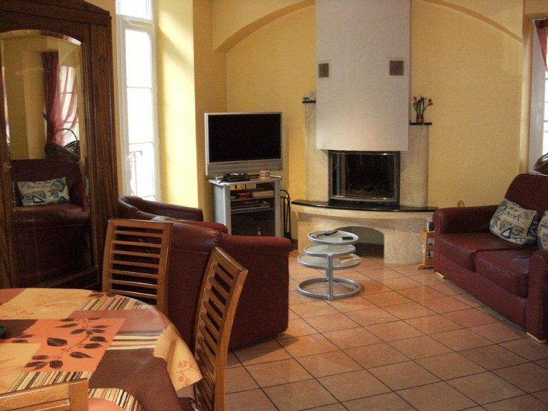 Bel appartement proche des pistes, coeur de ville, rez de jardin clos, terrasse, Ferienwohnung in Cauterets