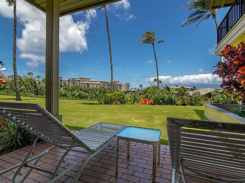 Kapalua Bay Villa Gold Ocean View, holiday rental in Kapalua