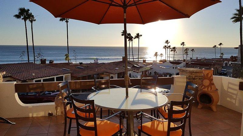 Sweeping Ocean and Surf View, Closest to Beach, Best Floor plan, Top Rated, aluguéis de temporada em Baja California Norte