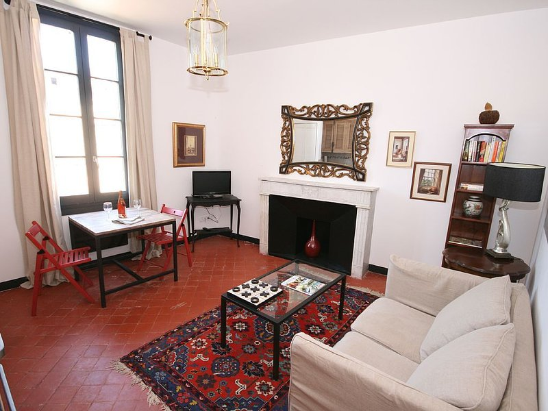 Authentic Apartment Overlooking The River Sorgue, holiday rental in Lagnes