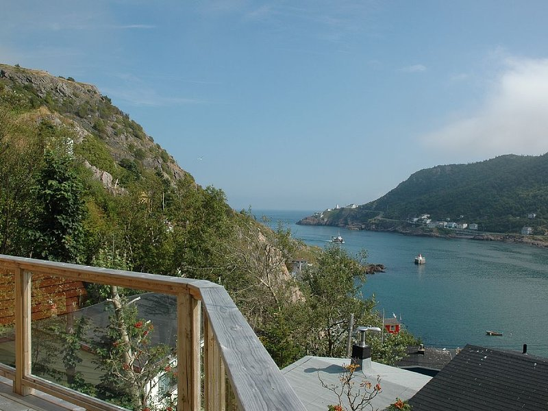 View from the deck out the Narrows.