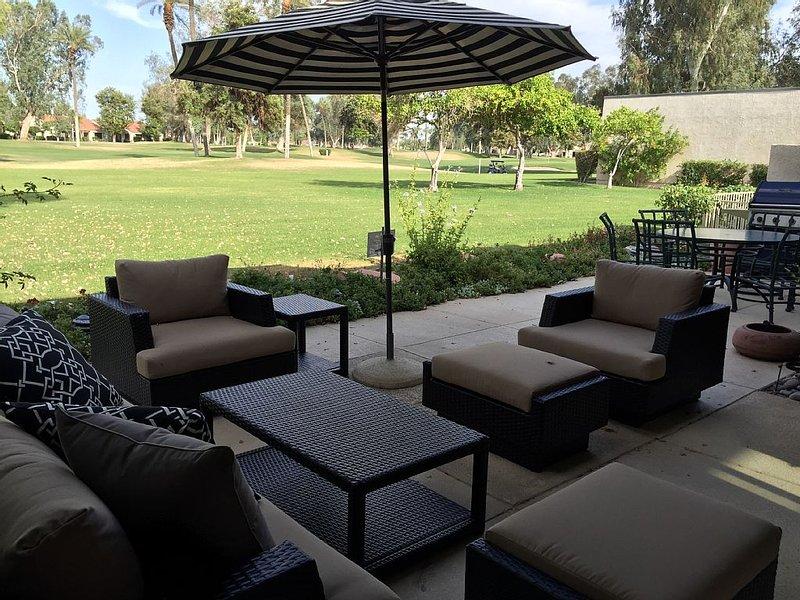 Upscale and Comfortable 5 star 3 BR 3 Bath on Golf Course, alquiler vacacional en Rancho Mirage