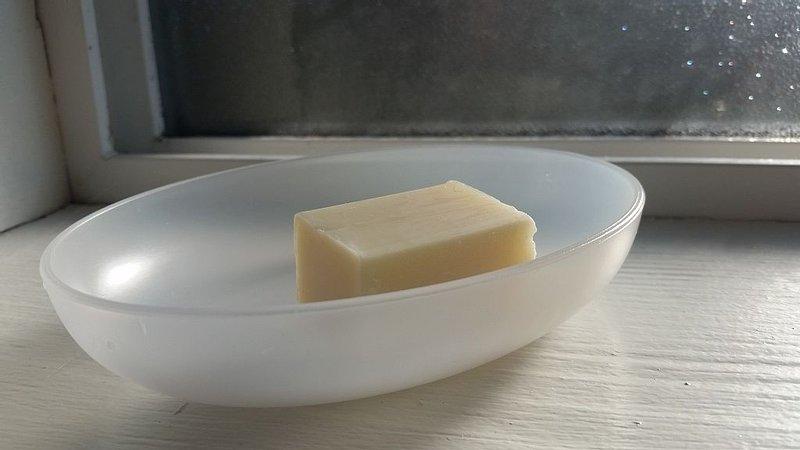 Lemon sandalwood bar soap