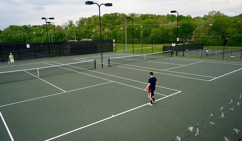 Tennis courts (7 min walking from house)