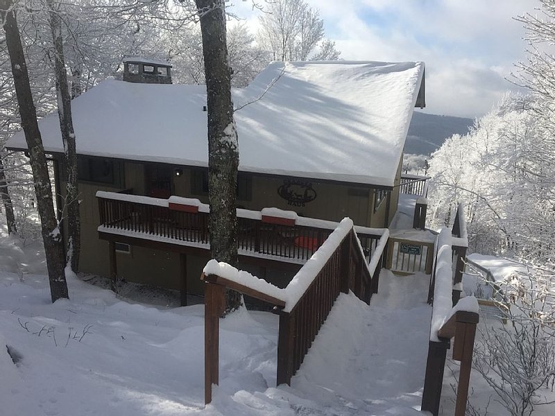Sit.  Stay.  Play.  Long Range Views, Fenced In Yard., holiday rental in Beech Mountain