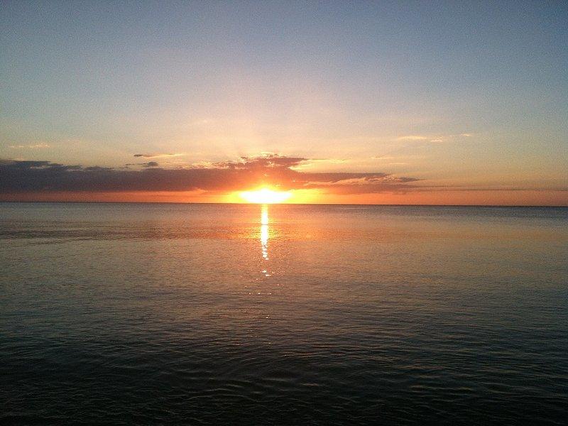 Another Breathtaking Naples Sunset from Vanderbilt Beach