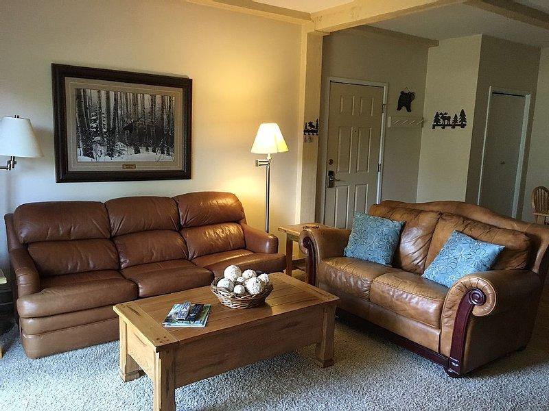 Nicely remodeled first floor Rockies condo facing Emerald Mountain, aluguéis de temporada em Steamboat Springs