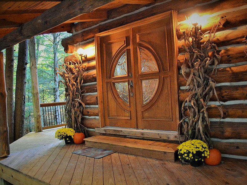 Secluded Cabin in the Woods of Pennsylvania, alquiler vacacional en Guys Mills