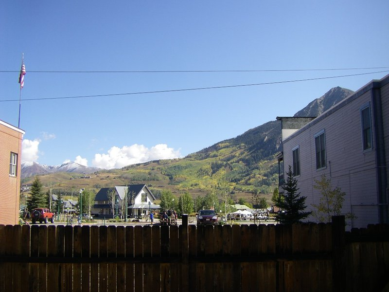 CB mountain from back yard