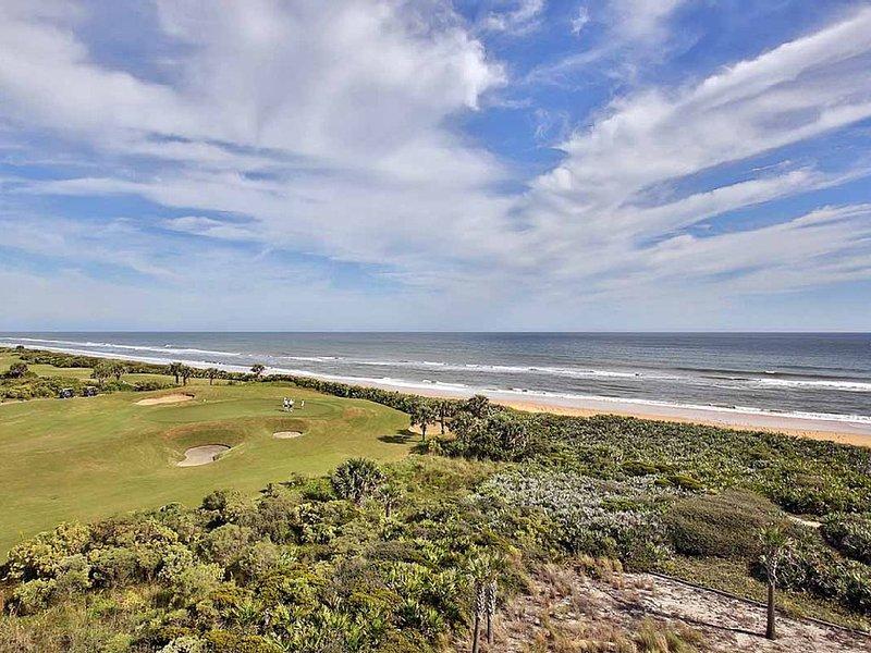 WOW ! Magnificent Ocean & Golf Views in Cinnamon Beach! - Unit 453!, location de vacances à Palm Coast