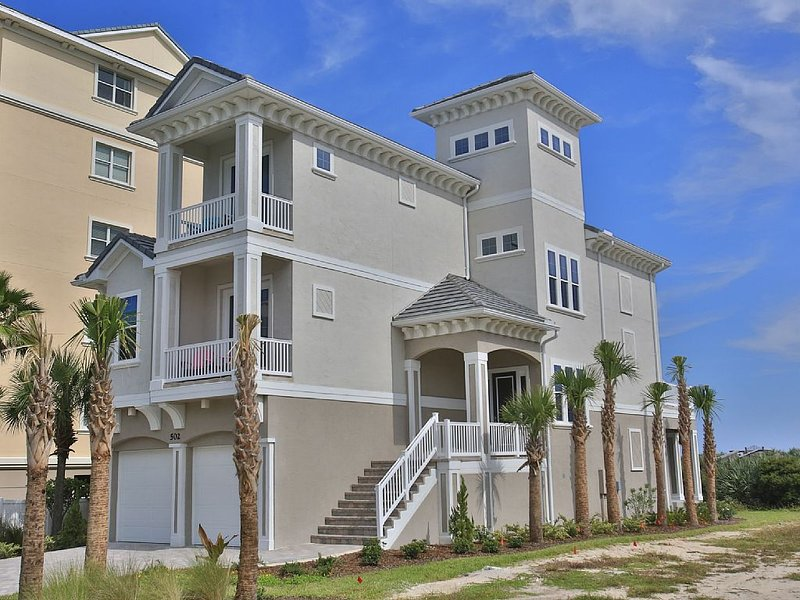 Atlantic Star in Cinnamon Beach!   Direct Oceanfront Private Home Paradise!, alquiler de vacaciones en Palm Coast