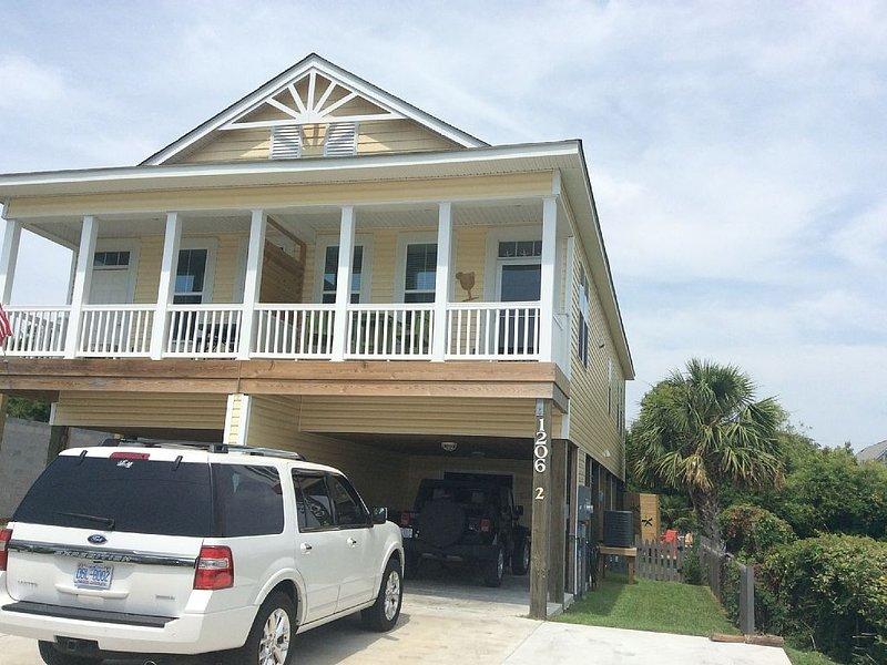 Willkommen im Bowfin Beach House! Schuhe optional. Spaß und Entspannung sind Pflicht; )
