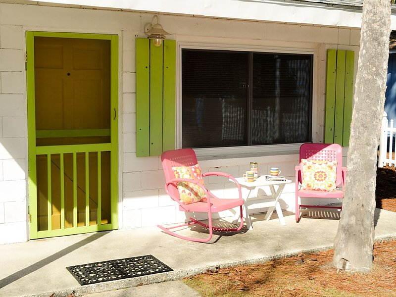 This bright doors starts your visit off just right!